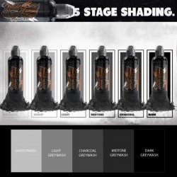 Five - Stage Shading Set 6pz 30ml - World Famous Ink