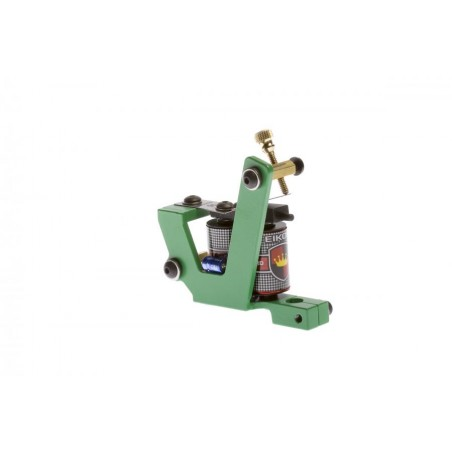 Green Monster Tattoo Machine - Coloring