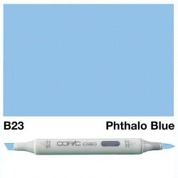 B23 Copic Ciao Phthalo Blue