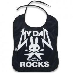 BABY BIBS - MY DAD ROCKS
