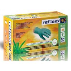 Reflexx 42 - M Verdi - 100 guanti in lattice