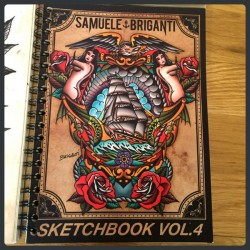SAMUELE BRIGANTI Sketchbook vol 4