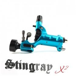 Stingrey X2 - Cyanide Cyan (standard 4mm stroke length)