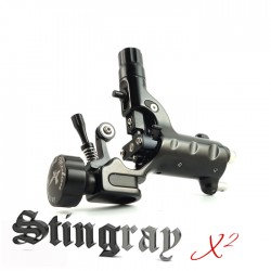 Stingrey X2 - Evil Black  (standard 4mm stroke length)