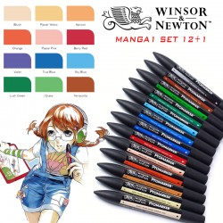 Winsor & Newton - Manga 1 - Set 12+1