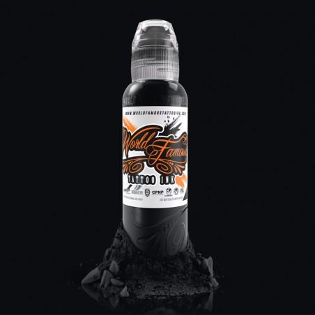 World Famous Ink - Pitch Black - 240ml (8oz)