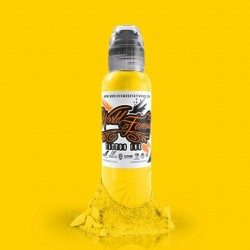World Famous Ink 30ml - Canary Yellow