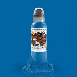 World Famous Ink 30ml - Niagara Blue