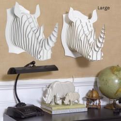 CARDBOARD - ROBBIE Cardboard Rhino Bust