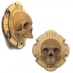CARDBOARD - Rosette Micro VINCE Cardboard Human Skull