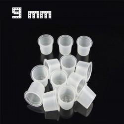 Cups Porta pigmento S (9MM) 1000PCS