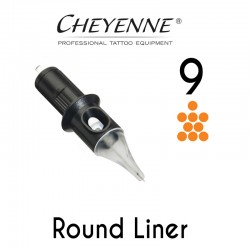 Cartridge Cheyenne Round Liner 09 - 0,30mm 10pcs