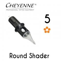 Cartridge Cheyenne Round Shader 05 - 0,30mm Long Taper 10pcs