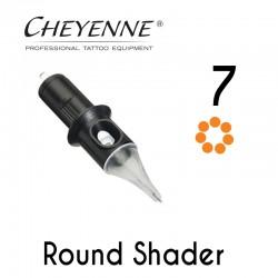 Cartridge Cheyenne Round Shader 07 - 0,30mm Long Taper 10pcs