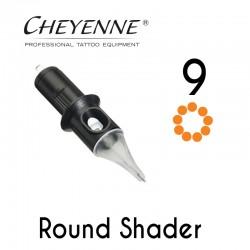 Cartridge Cheyenne Round Shader 09 - 0,30mm Long Taper 10pcs