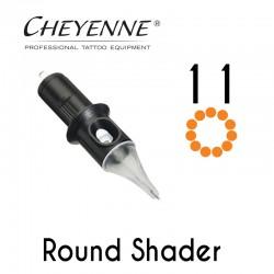 Cartridge Cheyenne Round Shader 11 - 0,30mm Long Taper 10pcs
