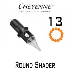 Cartridge Cheyenne Round Shader 13 - 0,30mm Long Taper 10pcs
