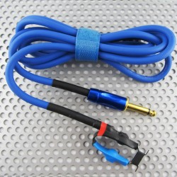 ClipCord In Silicone 1.8M Jack 6.35 Blue