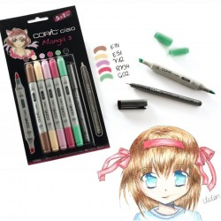 Copic Ciao 5+1 Manga 3