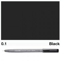 Copic Multiliner Black 0.1