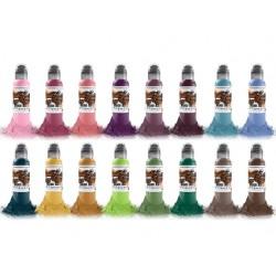 A.D. Pancho Proteam colorset Set 16pz x 30ml - World Famous Ink