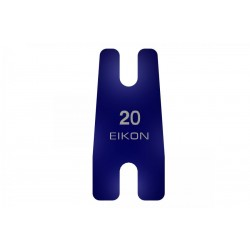 Eikon Conventiona Back Sping Taper 0,020 Inch Blue