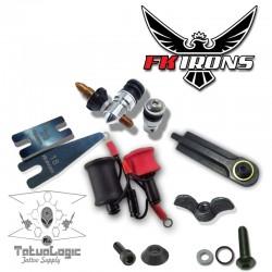 F.K.irons - Kit completo costruzione macchinetta da sfumatura 1.5