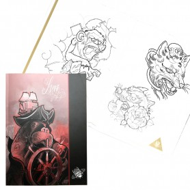 Marco Luzz Sketchbook Tattoo Ideal - 2016