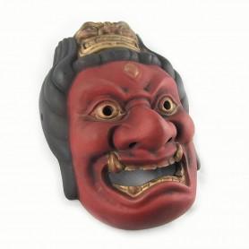 Maschera in Resina Aizen Myo-o Dipinta a mano