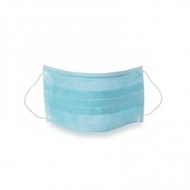 Mascherina chirurgica monouso azzurra 50pz