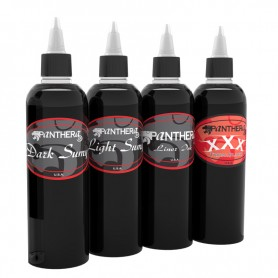 Panthera Ink Kit 4 Neri 150ml