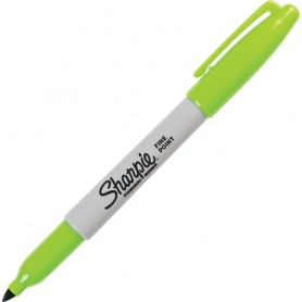 Pennarello Sharpie Fine Lime