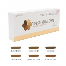 Perma Blend X Clinical Academy - Fitzpatrick 1-2 (Set 1) – 6 x 15ml