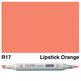 R17 Copic Ciao Lipstick Orange