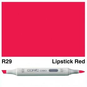 R29 Copic Ciao Lipstick Red