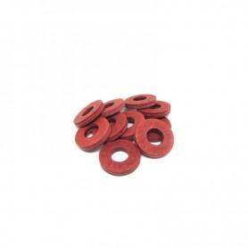 Rondella in Fibra di poliestere per Nucleo Bobina 5/16\'\' - 10pz Red