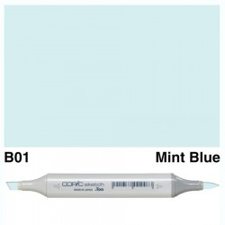 B01 Copic Sketch Mint Blue