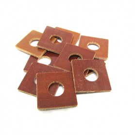 Rondelle elicoidali - Quadrate - Per bobine da 5/16 - 10pz Brown