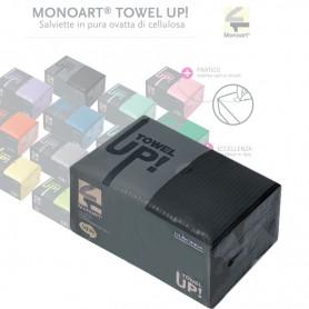 Salviette Monoart Towel Up 500 Pz. Nero