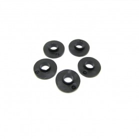 Set 5 Rondelle Isolanti plastica nera