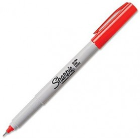 Sharpie® ULTRA FINE POINT MARKER PENS 0.5MM TIP RED