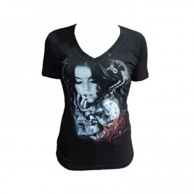 Sullen T-shirt Donna - Kirt Silver