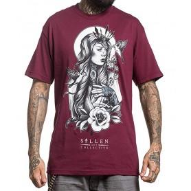 Sullen T-shirt Uomo Bordeaux