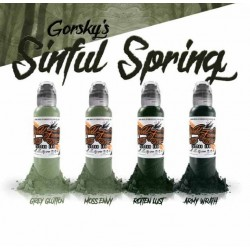 Gorsky\'s Sinful Spring 4pz x 30ml (1oz) - World Famous Ink