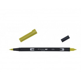 Tombow Dual brush 076 colore GREEN OCHRE