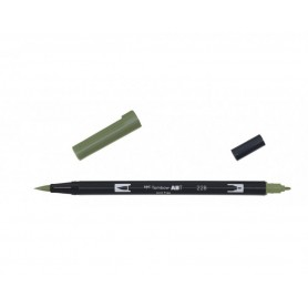 Tombow Dual brush 228 colore GRAY GREEN