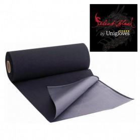 Unigloves Black Line 100 fogli per rotolo - Tappetino igienico 30x50