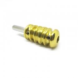Grip in alluminio D - Giallo 22mm
