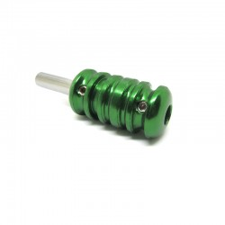 Grip in alluminio D - Green 22mm