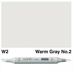 W-2  Copic Ciaol Warm Gray No.2